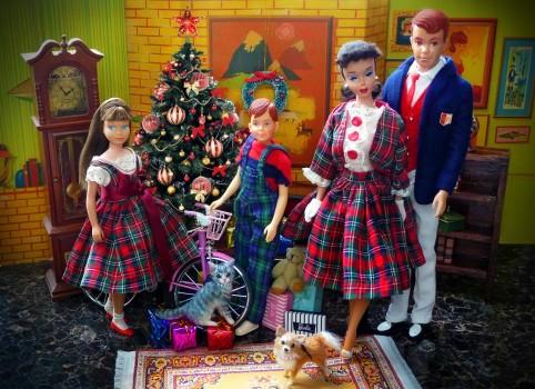 Merry christmas Barbie style