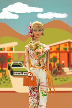 vintage barbie diorama, Dawn Austin Artist