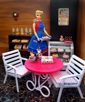 barbie and her sweet delights