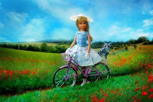 doll photography Bike ride